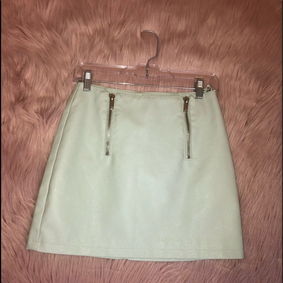 Forever 21 Dresses & Skirts - 💙 [BOGO 1/2 off]💙 Faux leather a line skirt